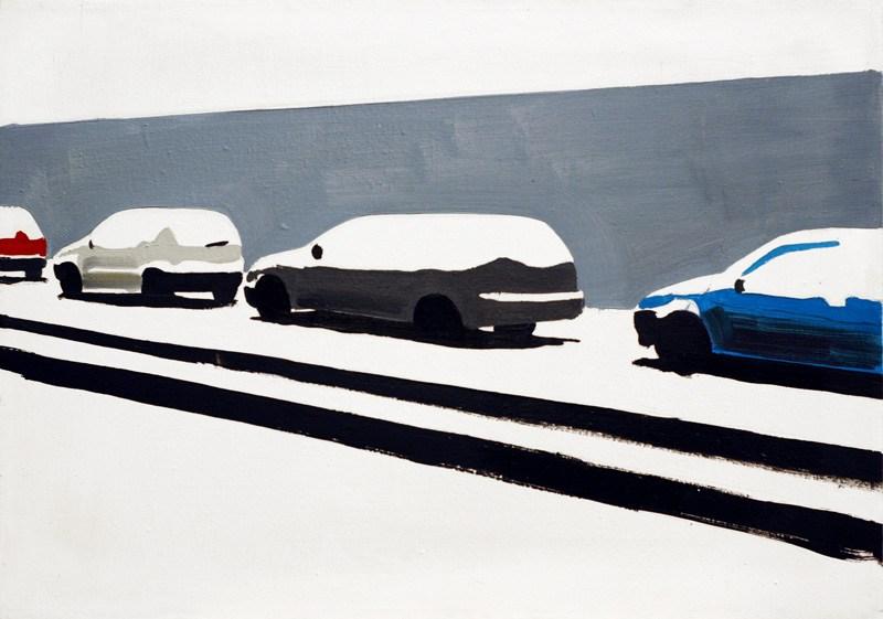 """Rafał Bujnowski, z serii """"Śnieg"""", 2003, fot. dzięki uprzejmości Galerii Raster"""