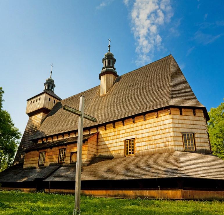 Kościół Wniebowzięcia Najświętszej Marii Panny w Haczowie, fot. Waldek Sosnowski/Forum