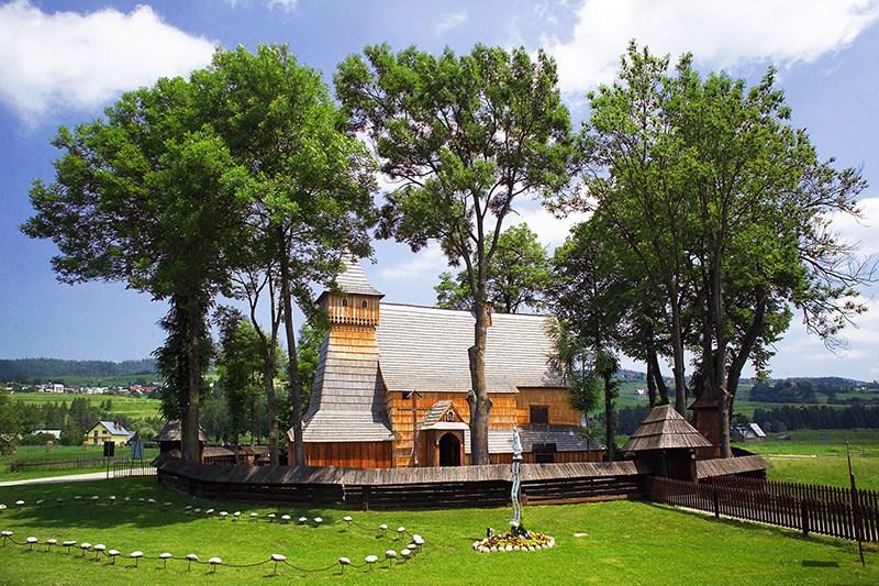 Kościół św. Michała Archanioła w Dębnie Podhalańskim, fot. Marek Skorupski / Forum