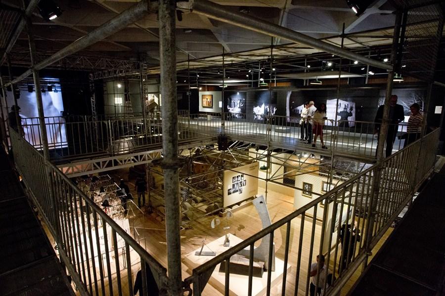 A view of the Tadeusz Kantor Machine exhibition, SescConsolação, São Paulo, photo: Alexandre Nunis