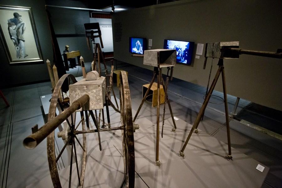 A view from the Tadeusz Kantor Machine exhibition, Sesc Consolação, São Paulo, photo: Alexandre Nunis