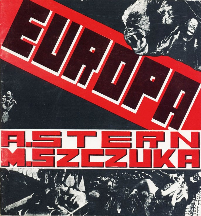 Teresa Żarnowerówna, cover design for the book Europa by Anatol Stern, with layout by Mieczysław Szczuka, 1929, photo: Muzeum Sztuki in Łódź