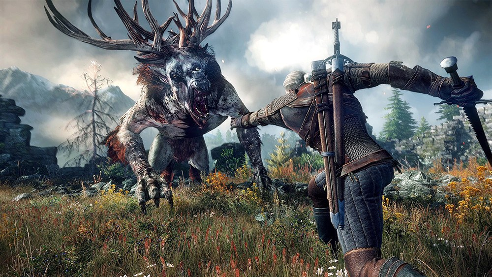 Still from the game  The Witcher: Wild Hunt, photo: press materials of the producer