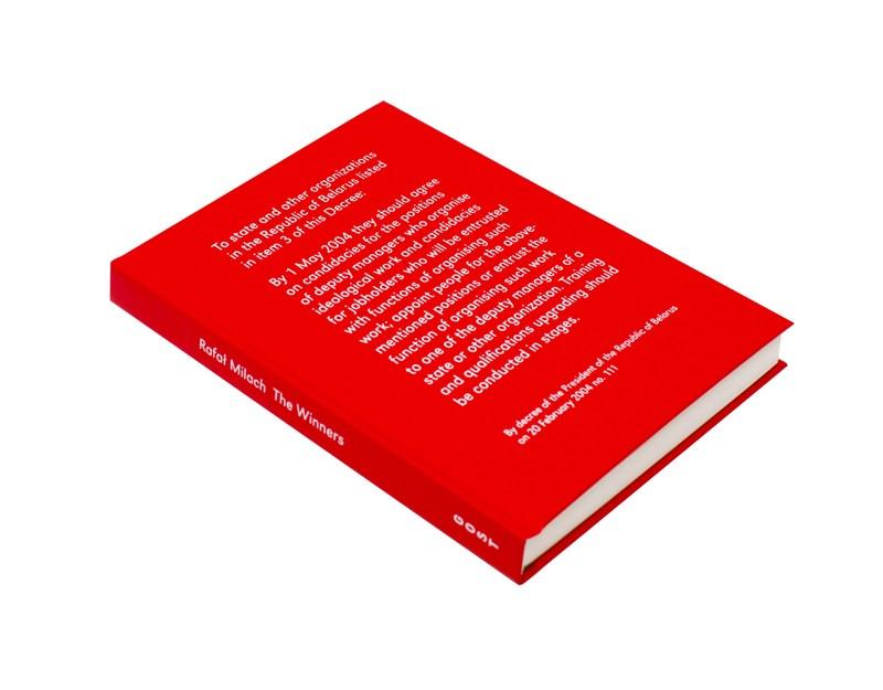 """Rafał Milach """"The Winners"""", projekt graficzny: Rafał Milach, Anna Nałęcka, GOST, wydawca: GOST, 2014"""