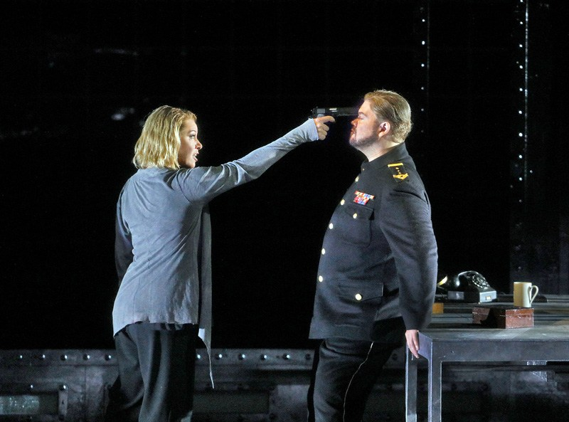 Premiera opery Tristan i Izolda Ryszarda Wagnera w reżyserii Mariusza Trelińskiego, fot. Ken Howard/ Metropolitan Opera