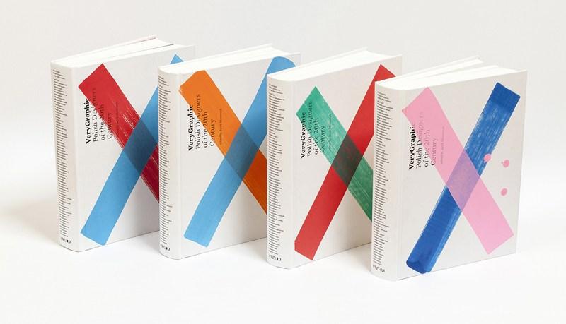 """""""VeryGraphic. Polish Designers of the 20th Century"""", red. Jacek Mrowczyk, projekt graficzny: Kuba Sowiński, wydawca: Culture.pl, 2015"""