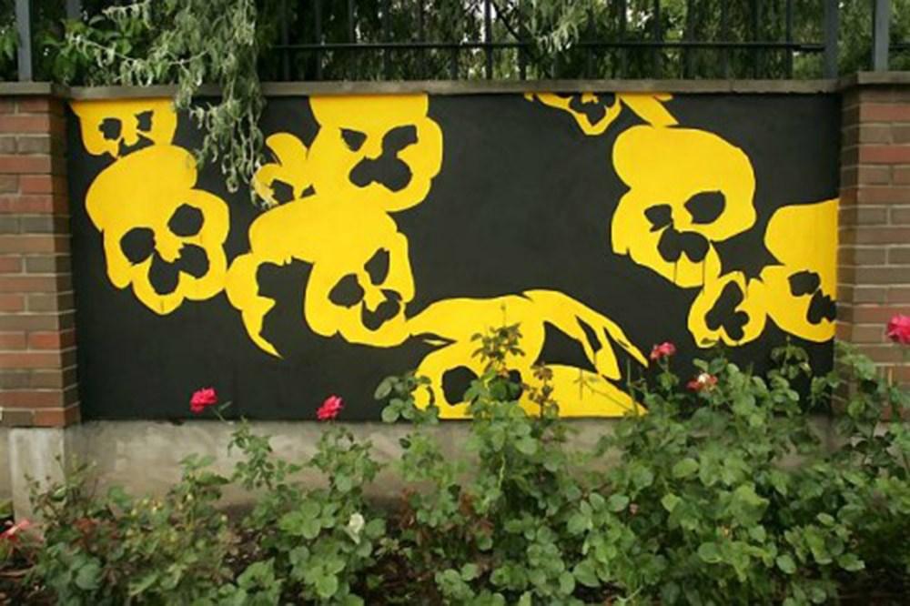 Wilhelm Sasnal, Design for the Warsaw Uprising Museum, 2007, photo: Albert Zawada/Agencja Gazeta
