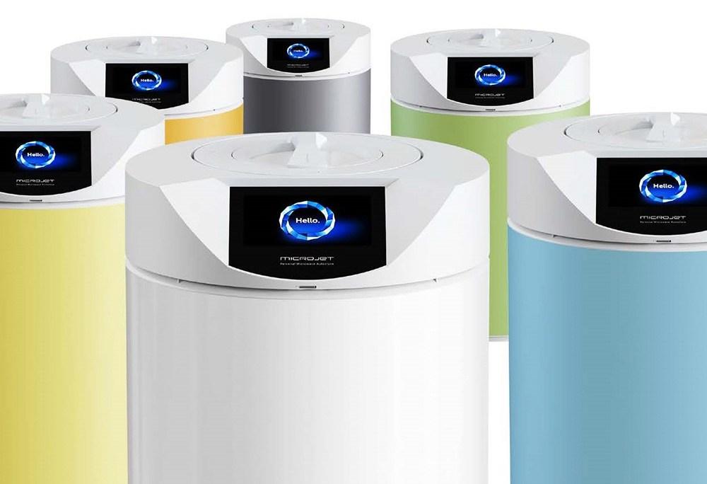 Autoklaw mikrofalowy do sterylizacji mediów płynnych MICROJET, producent: ENBIO Technology, projekt: Brandspot