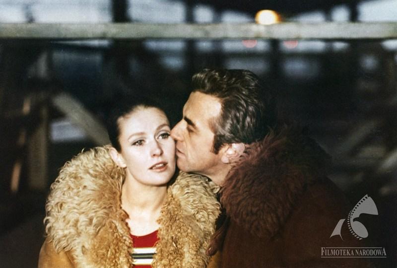 Still from the film Everything for Sale directed by Andrzej Wajda, 1968. In the photograph: Beata Tyszkiewicz and Andrzej Łapicki., photo: Studio Filmowe Zebra / Filmoteka Narodowa/www.fototeka.fn.org.pl