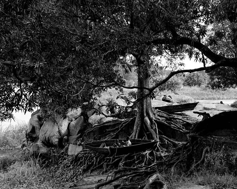 Южный Судан, 2006 год, окрестности лагеря для беженцев. Фото: Кшиштоф Миллер / Agencja Gazeta