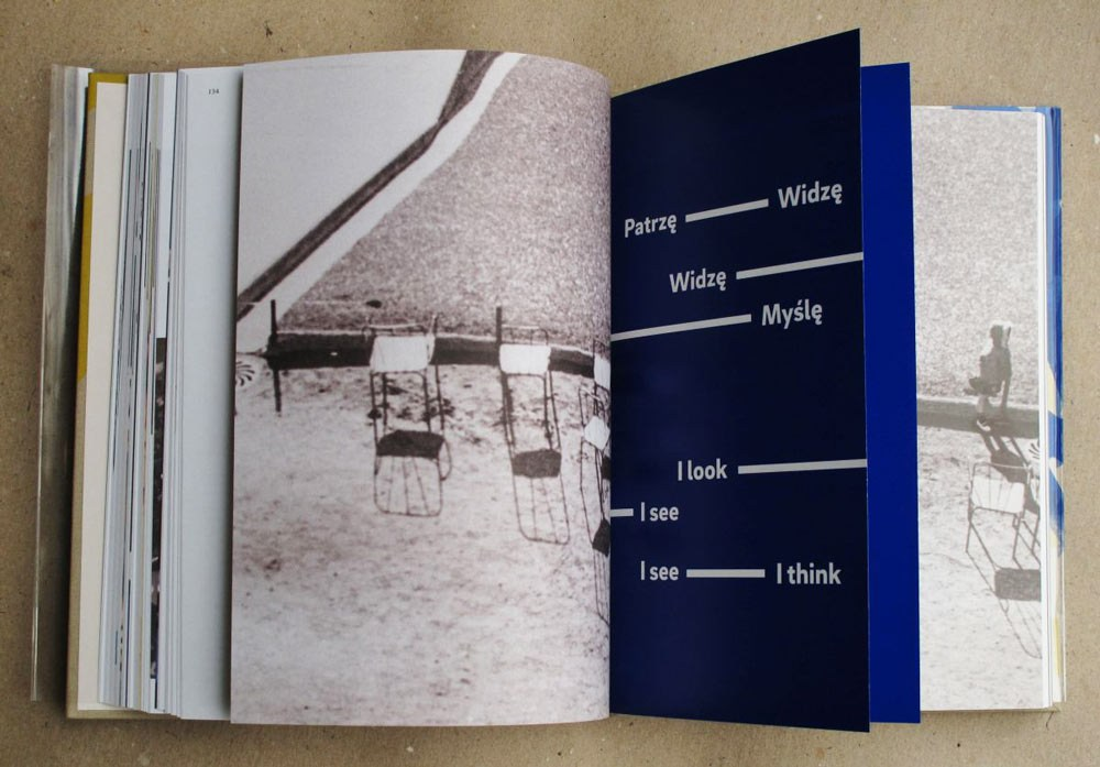Wojciech Zamecznik: Photo-graphics, centerfold, courtesy of the Zachęta – National Art Gallery