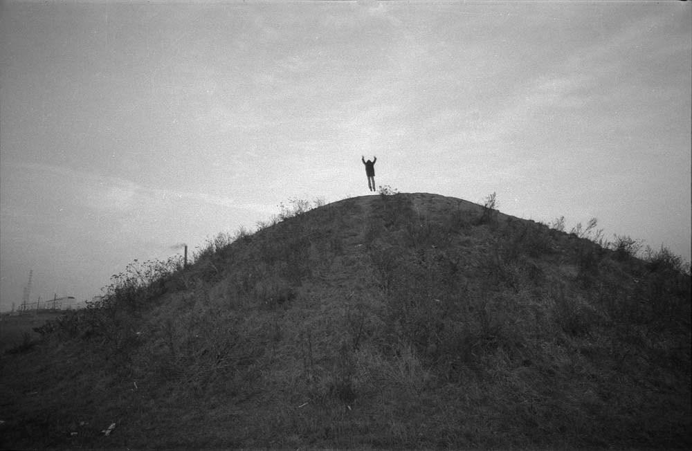 """Zbigniew Warpechowski, """"Modlitwa o nic"""", 1974, Łódź, fot. dzięki uprzejmości artysty / Zachęta - Narodowa Galeria Sztuki"""
