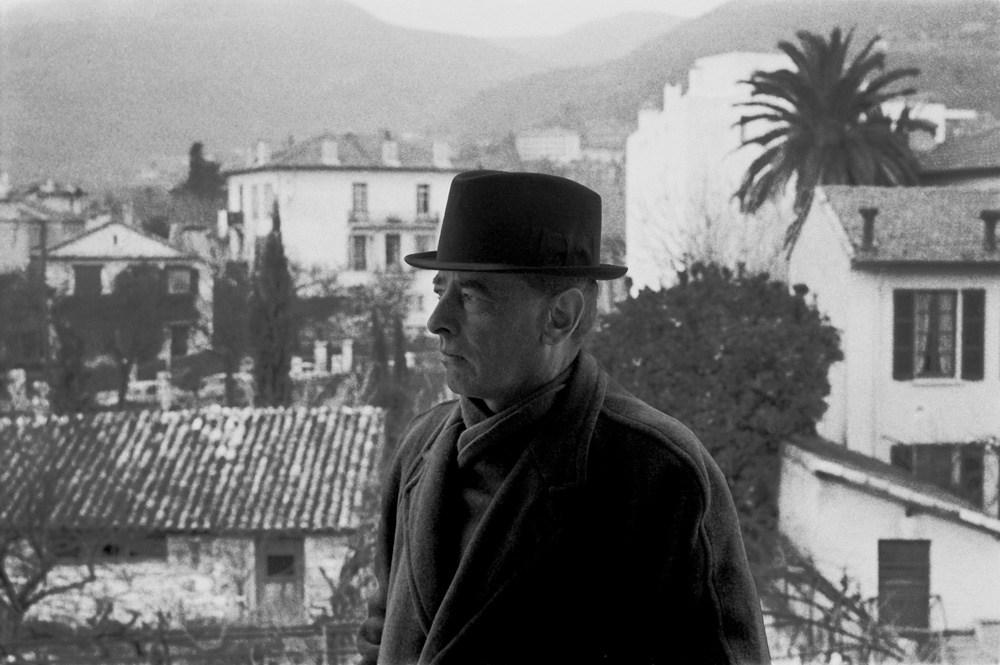 Witold Gombrowicz, Vence, 1965, photo: Bohdan Paczowski