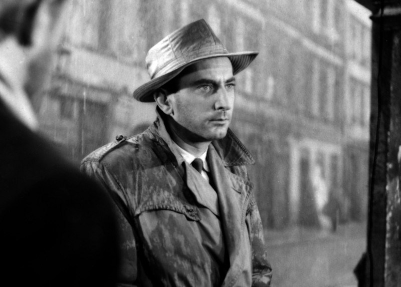 Still from the film Pętla, directed by Wojciech Jerzy Has, 1957, pictured: Gustaw Holoubek, photo: Polfilm/East News