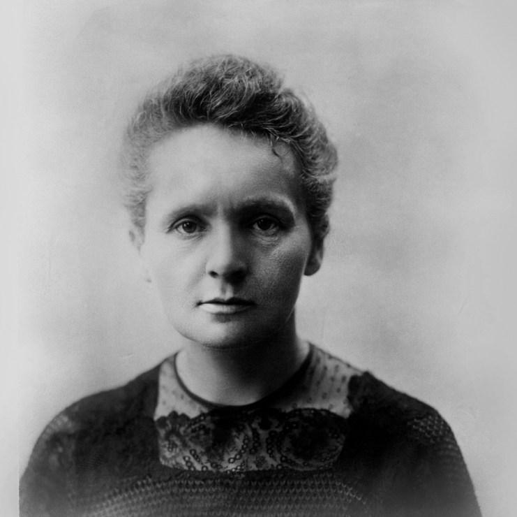 Maria Skłodowska-Curie, Birmingham, 1913, photo: Wydawnictwo Studio Emka