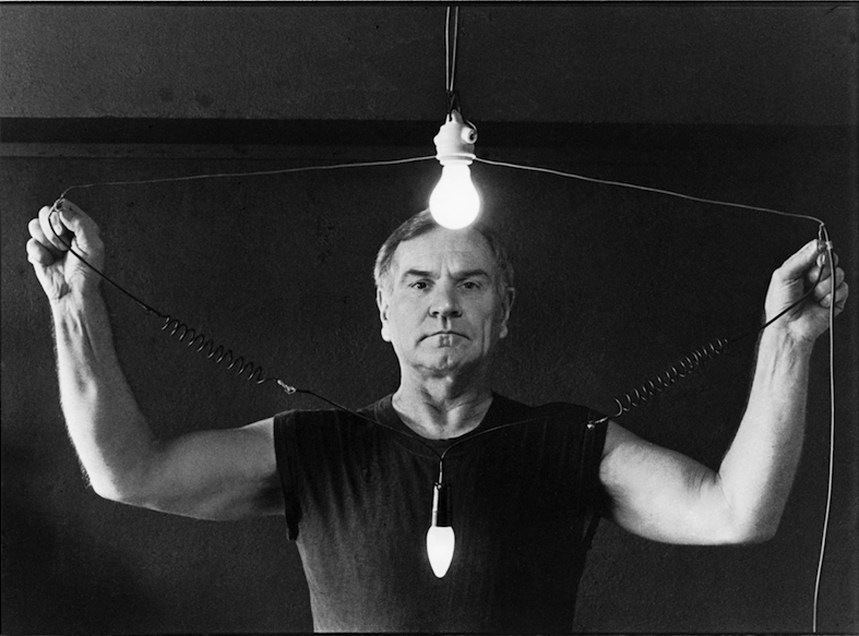 Robakowski, I'm Electric, video-performance, 1992, photo courtesy of the artist