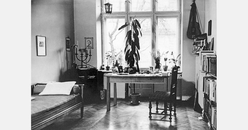 Квартира Константы Ильдефонса Галчинского в Варшаве, 1950-е годы, фото: Литературный музей / East News