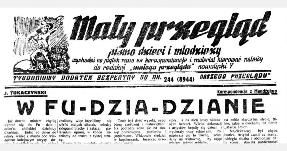 """""""Mały Przegląd"""" z 1 września 1939 roku - ostatni numer pisma"""