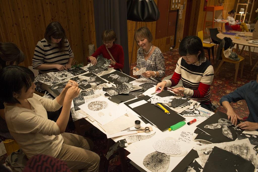 Aleksandra Niepsuj's workshop, photo: Kazuomi Furuya