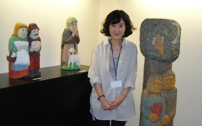 Professor Esthera Choi (Sungeun Choi), photo courtesy of Estera Choi