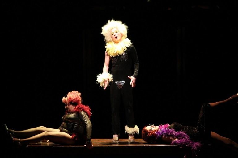 Scene from the performance Macbeth directed by Maja Kleczewska, Korea 2014, photo: Uijeongbu International Music Theatre Festival