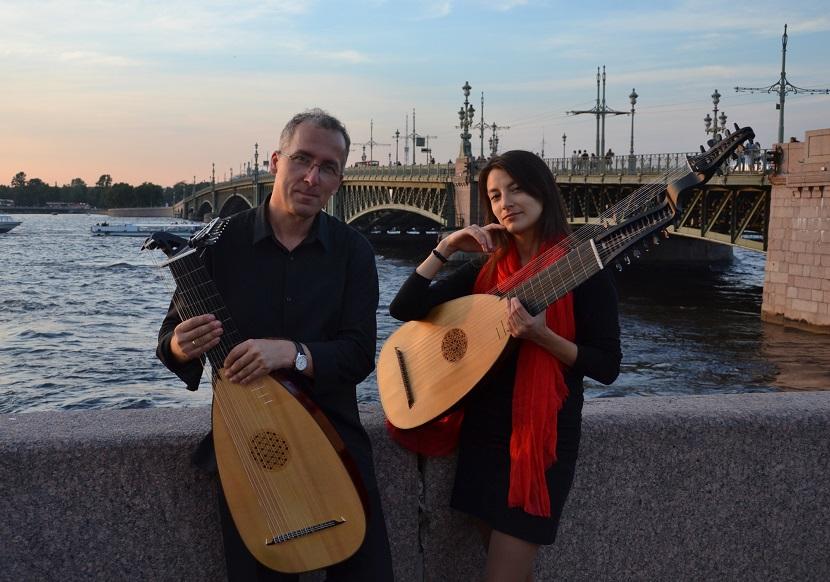 Luteduo – Anna Kowalska and Anton Birula, photo: Luteduo