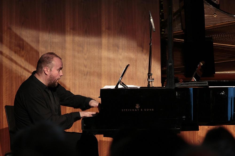 Maciej Grzybowski na festiwalu w Bregencji, fot. Artur Krutowicz