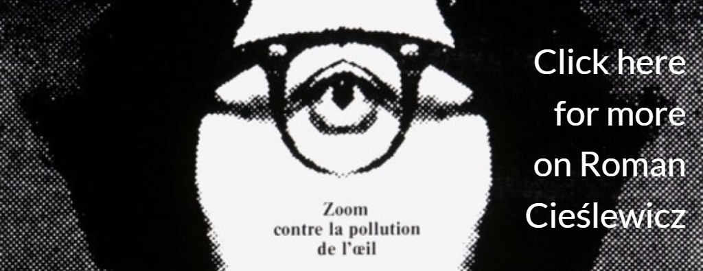 'Zoom Contre la Pollution de L'Oeil', poster by Roman Cieślewicz 1971, photo: press materials