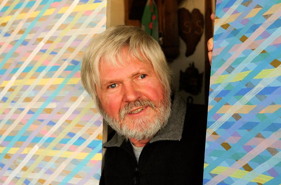 Jan Dobkowski in his studio, Warsaw, October 26th, 2010
