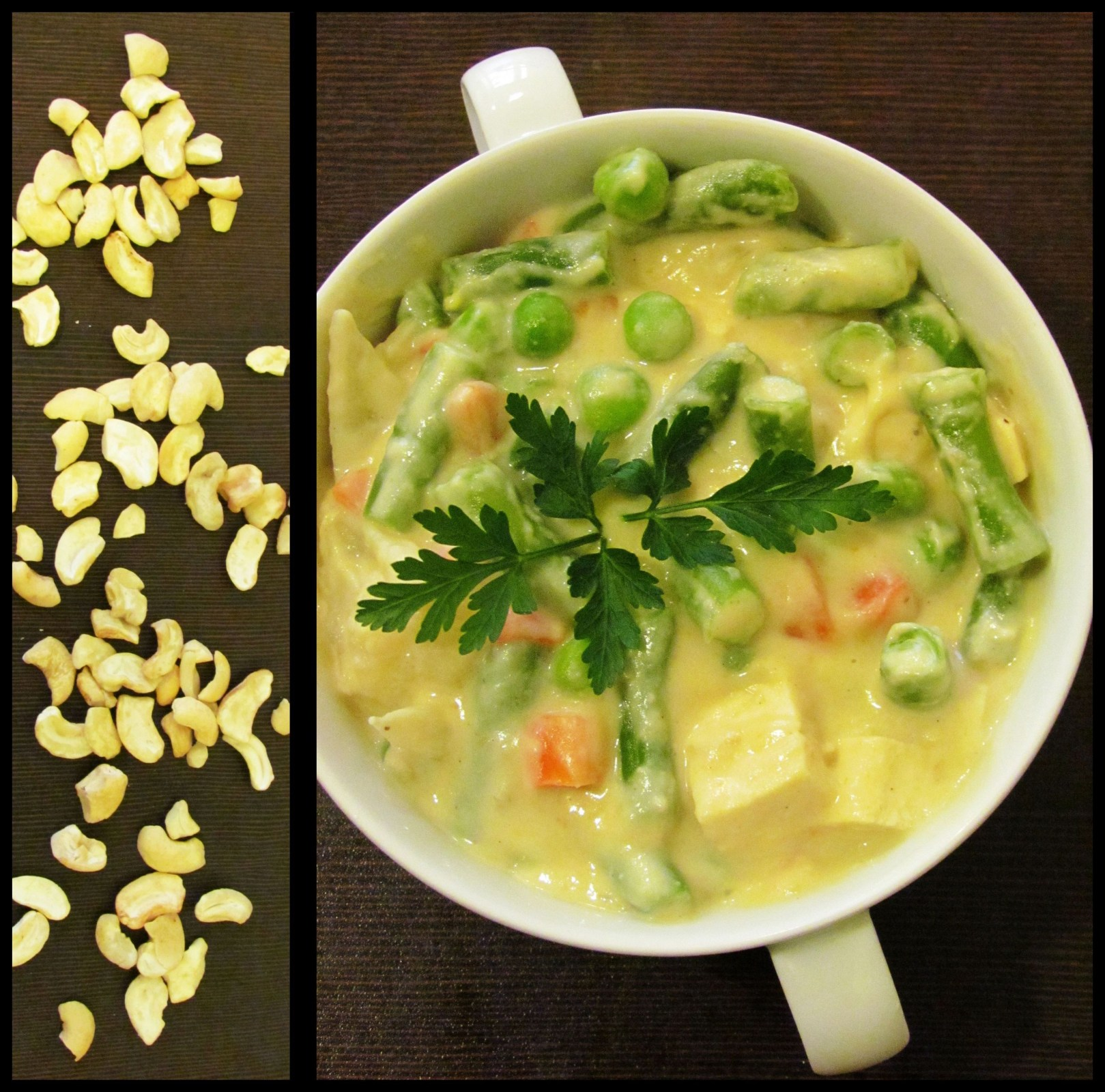 Cashew dish, photo: courtesy of Govinda Pure Veg. & Vegan Restaurant