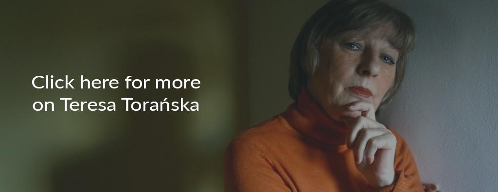 Teresa Torańska, Warsaw, 2007, photo: K. Żuczkowski / Forum