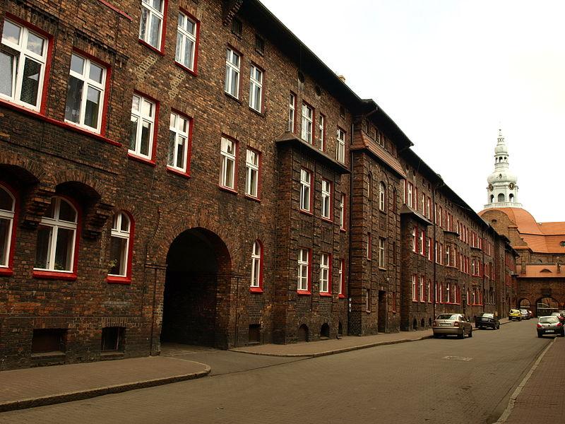 Nikiszowiec, Krawczyka street in Katowice, image: CC