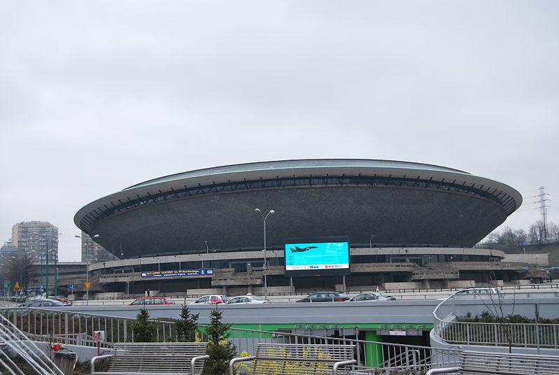 The Spodek stadiumin Katowice, photo: CC