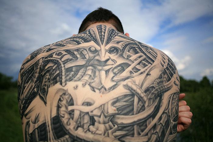 Tattoo by Junior, courtesy of the juniorink najgorsze studio w mieście