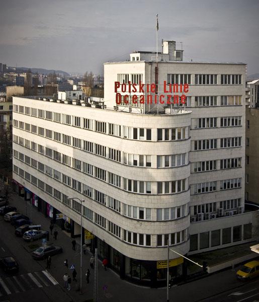 PLO Polish Oceanic Lines Headquarters in Gdynia, photo: Przemysław Kozłowski, courtesy of modernizmgdyni.pl