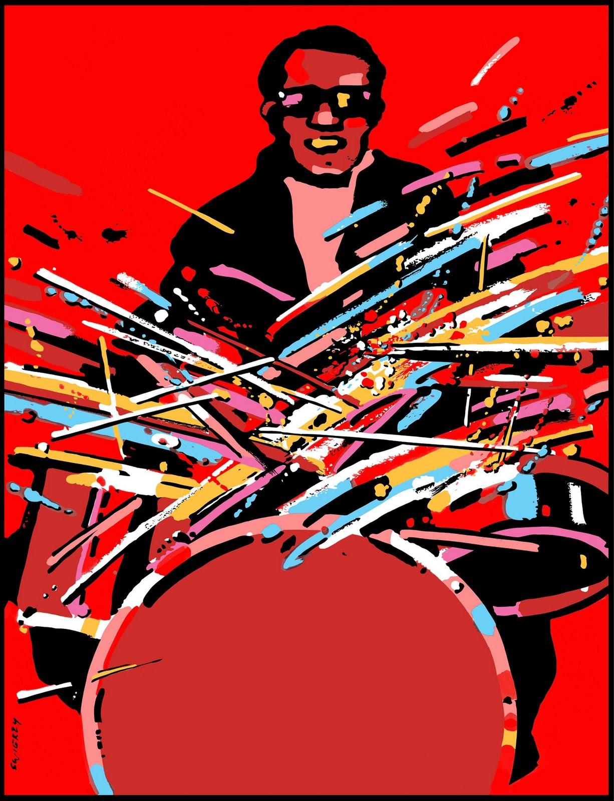Вальдемар Свежий «Раскаленные палочки», 1985