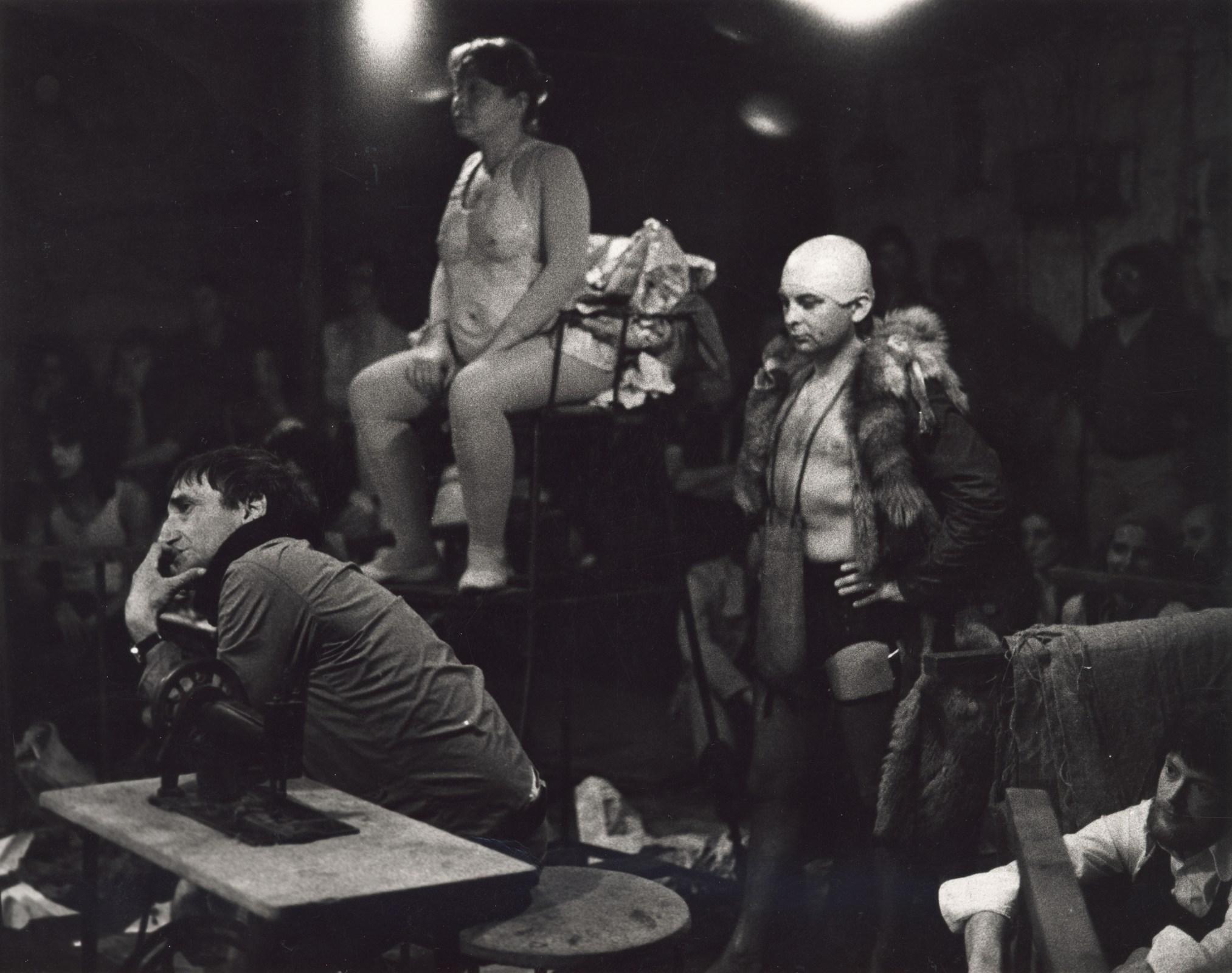 'The Water Hen, Cricot-2 Theatre, Edinburgh 1972. Photograph by Richard Demarco'
