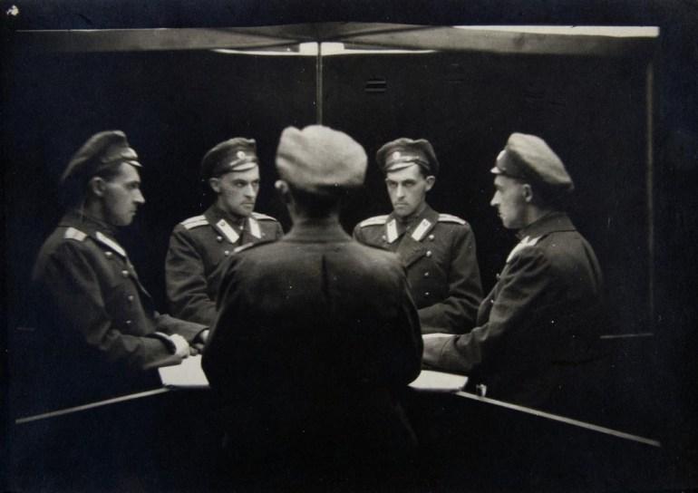 """Stanisław Witkiewicz, """"Portret wielokrotny"""", ok. 1917, fot. dzięki uprzejmości DSH"""