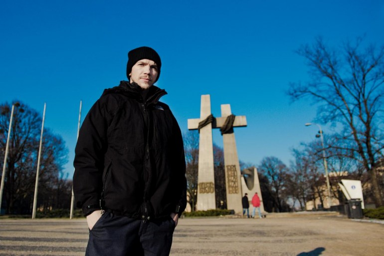 Jan Komasa na placu Adama Mickiewicza w Poznaniu / fot. Agata Schreyner/materiały prasowe festiwalu Malta