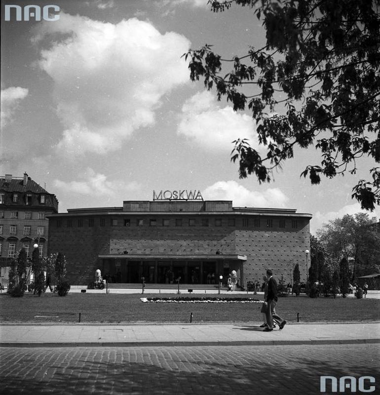 Kino Moskwa, fot. Narodowe Archiwum Cyfrowe
