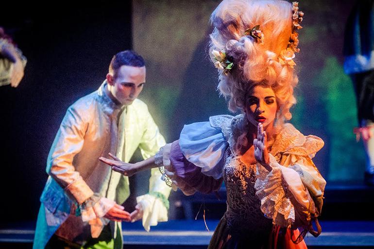 Zdjęcie z otwarcia Gdańskiego Teatru Szekspirowskiego, fot. materiały promocyjne teatru