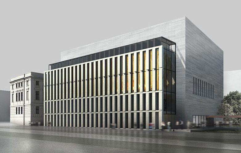 Biblioteka Raczynskich, Poznań, wizualizacja projekt: JEMS Architekci, fot. dzięki uprzejmości architektów