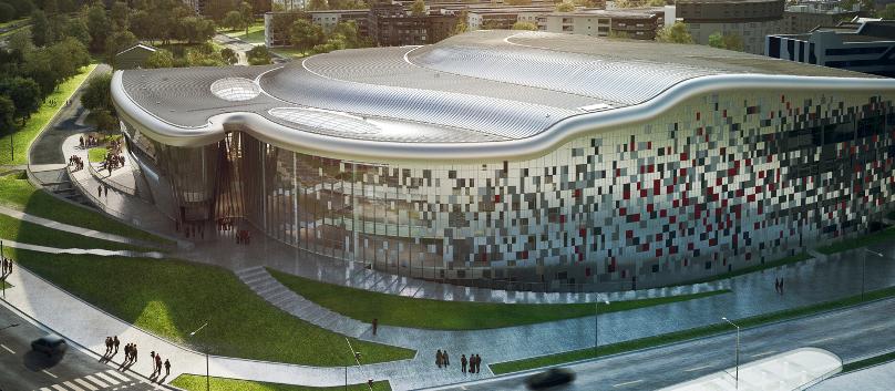 Ingarden & Ewy Architekci, wizualizacja Centrum Kongresowego w Krakowie, fot. dzięki uprzejmości architektów