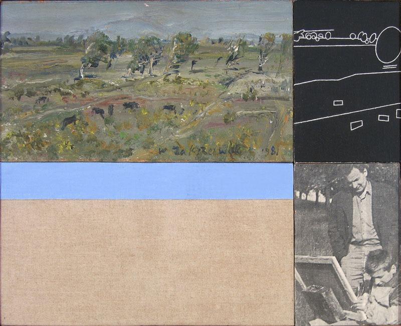 """Włodzimierz Jan Zakrzewski, """"Obraz ojca"""", 1991, 36 x 45 cm, fot. dzięki uprzejmości artysty"""