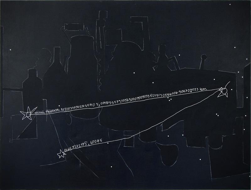 """Włodzimierz Jan Zakrzewski, """"Rysunek dziecka"""", 1994, 153 x 200 cm, fot. dzięki uprzejmości artysty"""