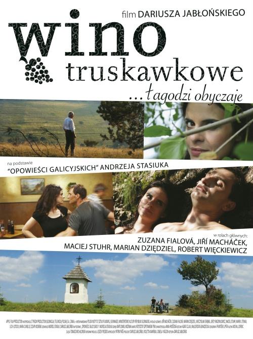 Wino truskawkowe - plakat