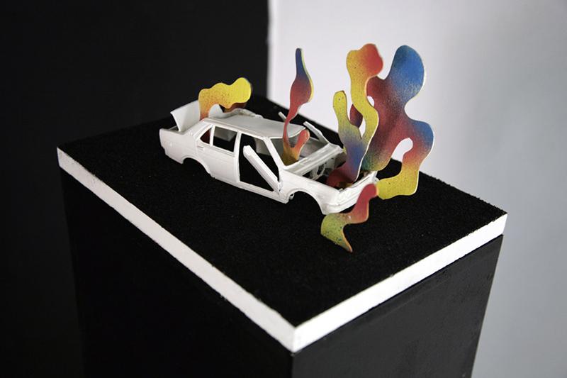 "Tymek Jezierski, artwork from the exhibtion ""When I Close My Eyes"""