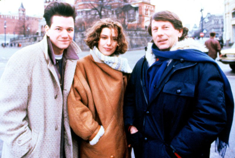 "Frank Whaley, Natalia Negoda and Roman Polański in ""Back in the USSR"", 1992, photo: East News"
