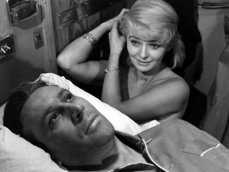 "Still from Jerzy kawalerowicz&squot;s ""Night Train"", photo:  East News / Polfilm"