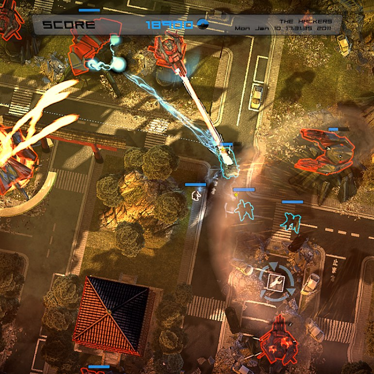 Screenshot of Anomaly - Warzone Earth